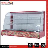 Горячая продавая изогнутая стеклянная грелка индикации еды с утверждением Ce