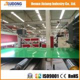 Польза плиты столба зеленая алюминиевая для украшения фронта магазина