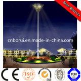 15m, 18m, 20m, 25m, 30m, 35m alumbrado público 30m poste de iluminación de mástil alto con sistema de elevación