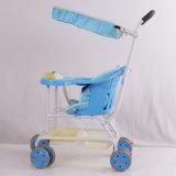Commercio all'ingrosso leggero del carrello del passeggino del bambino della nuova sede di plastica dei pp