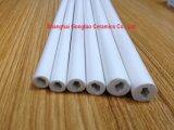 De verglaasde Alumina van 85% Ceramische Buis van het Ontstekingsmechanisme (de buis van het porselein)