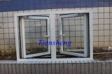 Aluminio personalizado Casement Ventana de cristal para edificio comercial y residencial