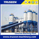 Tipo planta de procesamiento por lotes por lotes concreta del transportador de correa Hzs180