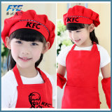 Lovely Polyester Kids Apron Cute Apron Kitchen Set