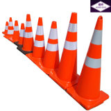 cones do tráfego do PVC de 50cm Europa