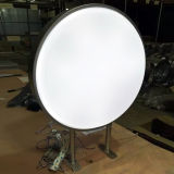 Lightboxを形作る屋外の防水円形LEDのライトボックスの真空