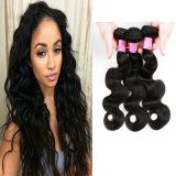 Paquets brésiliens brésiliens 100% non transformés de bonne qualité d'armure de cheveu d'onde de corps de cheveux humains de Vierge