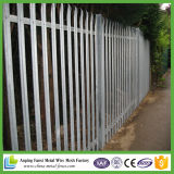 DIP caliente galvanizado W-sección de acero Palisade Fence