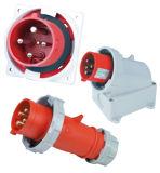 Soquete multi-corrente IP44 com interruptor e bloqueio para conectores e tomadas industriais