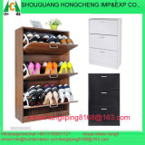 2/3 Racks Gavetas de madeira Shoe Storage Cabinet Footwear Stand Rack Unit Cupboard
