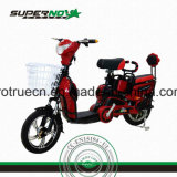 Red Electric Scooter Batterie au plomb acide