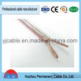 Altos cable del altavoz del alambre del altavoz de la definición/alambre del altavoz transparente