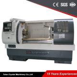 Op zwaar werk berekende Vlakke CNC van het Type van Bed Draaibank (cjk6150b-1)