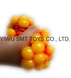 verandert het Plastic Speelgoed van 65mm het Speelgoed van de Bal van Squish van de Bal van de Samendrukking van de Druif van Kleuren met GLB