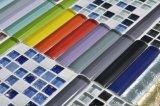 Fronteira do mosaico em vidro colorido