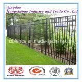 2.1m X2.4m Stangen-Oberseite-Sicherheits-Stahl-Zaun