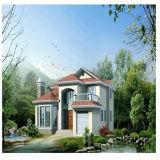 Quente! ! ! Villa prefabricadas modulares populares House