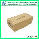 휴대용 가정 사용된 5000W 마이크로 순수한 사인 파동 변환장치 (QW-P5000)
