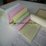 Papier de copie autocopiant pour l'utilisation de plusieurs formulaires en banque, bureau