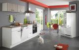 Aisen heiße Verkaufs-einfacher Entwurfs-weiße Lack-Küche-Möbel 2017