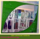 Buitengewoon brede/Overmaatse/Grote Zilveren Frame Spiegels (rechthoekige ronde,)