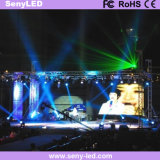 D'intérieur extérieurs l'écran polychrome d'Afficheur LED du moulage mécanique sous pression P4 pour les annonces visuelles