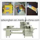 クッキーのための送り装置が付いているTraylessの包装機械