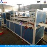 Máquina de extrusão de parafuso duplo cônico Sjsz 65/132 para placa de PVC / Painel / Produção de perfil