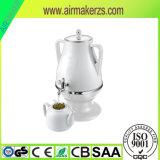 Samovar нержавеющей стали 3.2L электрический с фарфором/стеклянным чайником