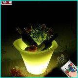 Mittelstück-Eis-Kasten-Kühlvorrichtung des Hochzeits-helle Tisch-LED mit Aufhängung