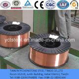 Aleación de cobre Er50-6 CO2 Gas Shield Solid MIG soldadura de alambre