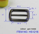 Acessórios de saco de moda de fivelas de cinto de liga de metal