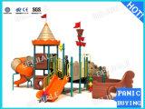Juegos de plástico al aire libre diapositivas (PS-075)