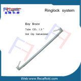 support diagonal de compartiment de support de 48.3mm Ringlock