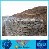 Gabion Korb-geschweißtes Ineinander greifen Felsen-Stein Wände
