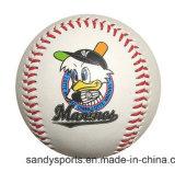 Diámetro personalizada PU de béisbol de cuero suave para regalo promocional