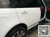 Range Rover mette in mostra la scheda corrente elettrica