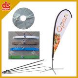 Strandvlag met paal en basis (DS-TF)