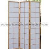 Giapponese cinese di vendita caldo tre sezioni non tessute/schermo piegante di legno dello Shoji