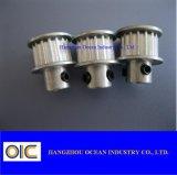 L'acier et la poulie de distribution en aluminium gt2