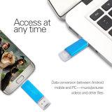Tipo movimentação da movimentação 64GB da pena do USB 3.0 OTG da velocidade rápida do flash de Pendrive do uso do dobro do USB Stick128GB 32GB 16GB 8GB de C
