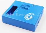Piezas azules plásticas del rectángulo del Silk-Screen del color del moldeo a presión