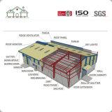 Struttura d'acciaio di costruzione della grande costruzione come l'ufficio/fabbrica/magazzino
