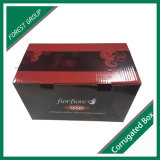 Contenitore di carta di vino del cartone per l'imballaggio del regalo del vino