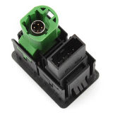Interruptor de Aux+USB VW Volkswagen Passat B6 B7 Cc Tiguan RCD510 Rns310 3CD 035 249 um