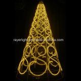 Ornamenten van groene LEIDENE van de Kabel de Kerstboom Gepersonaliseerde Kerstmis van de Familie
