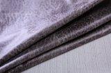 Tela artificial da camurça do falso com cópia e teste padrão especial