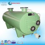 熱交換器に油をさす海洋エンジン水