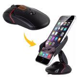 O universal gama alta 360 graus que giram suga o suporte do telefone do carro do rato para o iPhone X 7 7p 6s 6 positivos