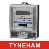 Dds-2L enige Fase Twee LCD van de Meter van de Energie van de Draad Type